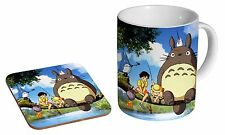 Totoro My Neighbour Ceramic Tea - Coffee Mug Coaster Gift Set