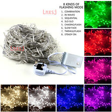 10/50m LED String Fairy Lights Waterproof Indoor/Outdoor Xmas Wedding Party Xsjd
