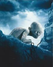 Andy Serkis autograph - signed Gollum photo lord of the rings the Hobbit