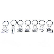 Metal car logo keychain key chain keyring key ring Llavero for BMW 1 3 5 6 7 8CN