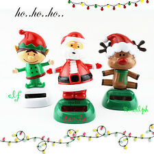 SPM Solar Powered Dancing Christmas SANTA, ELF, REINDEER, SHARK, BIRD Gift Toys