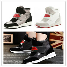 new Women's Winter Warm Shoes Fashion Casual Heighten Sneakers Hiking Moccasins