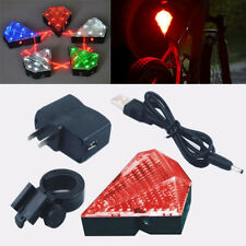 Rechargeable Diamond Bicycle Laser Taillights Night Riding Equipment  LED Light