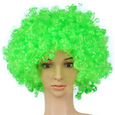 Halloween Disco Clown Curly Circus Fancy Dress Hair Wig Unisex Dance Decor Party