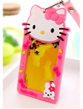Cute HelloKitty Working Card Holder ID Card Case Travelling Room Card Holder GSX