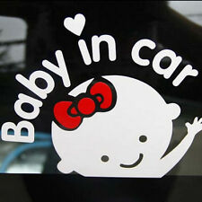 "Nice Girl Baby on Board ""Baby in car"" Window Car Sticker Auto Truck Vinyl Decal"