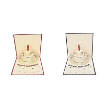 3D Pop Up Greeting Card Handmade Happy Birthday Thank You Easter Valentines Day
