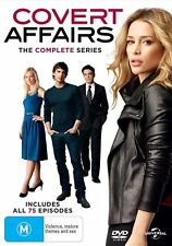 Covert Affairs - The COMPLETE Series : Seasons 1 - 5  : NEW DVD