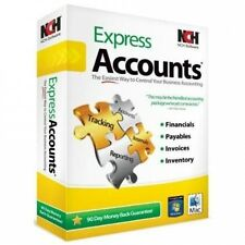 Nch Software RET-EA001 Express Accounts Accounting Crom Reports Inventory Payabl