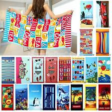 Large Microfiber Drying Bath Towel Printed Beach Swim Shower Towel Washcloth