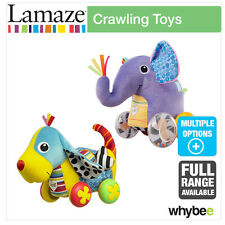 Tomy Lamaze Crawling Toys Baby Nursery Full Range! Push & Pull Along Animals