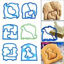 Cute Kids Lunch Sandwich Cookies Bread Biscuit Food Cutter Mold Mould DIY Tools