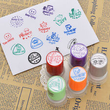 Teacher Round Self Inking Stamp Homework Reward Education Reward Education Gifts