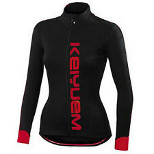 Ladies Racing Cycling Jersey Tops Long Sleeve Road Bike Bicycle Jersey Coolmax