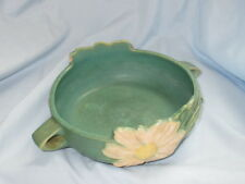 Beautiful Vintage ROSEVILLE Art Pottery Peony Dual Handled Planter Bowl #428-6""