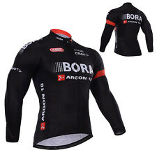 New Mens Long Sleeve Bike Bicycle Cycling Jerseys Autumn Outdoor Sports Wear