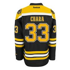 Zdeno Chara Boston Bruins Reebok Premier Replica Home NHL Hockey Jersey