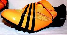 Adidas Adistar Sprint Running Spikes Cleats Track Shoes Orange / Black 14757 NiB
