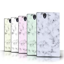 STUFF4 Back Case/Cover/Skin for Sony Xperia Z/Marble Rock Granite Effect