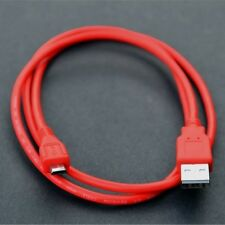 Red 1 metre Long Micro USB Charging Cable for IWANTIT IBTB14 Wireless Speaker. S