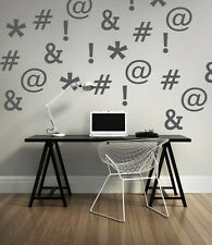 Social Media Icons, Dorm Decor, Gifts for Teenagers, Hashtag Sign, Office Art