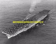 USS Wasp CV-18 Black n White Photo navy USN Carrier Military CV 18 CVS CVA WW2