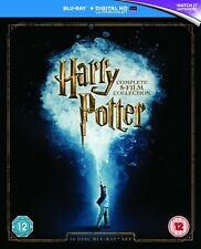 Harry Potter: The Complete 8 Film Collection [Regions 1,2,3] [Blu-ray] - DVD - N