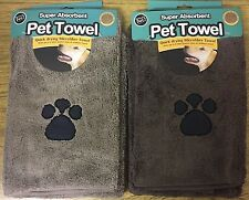 *NEW* Super Absorbent PET TOWEL. Quick Drying Microfibre. Dries 4X Quicker!