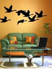 Flying Geese, Bird Wall Decal, Woodland Nursery Decor, Nature Wall Decal
