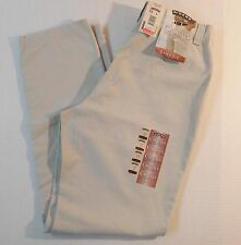 Lee Riders Casual Khaki Eased Fit Flat Front Pants Size 12L