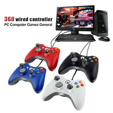 USB Wired Joypad Game Gamepad Controller Microsoft Xbox 360 for PC for Windows7