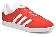 Men's Adidas Originals Gazelle Low rise Trainers in Red