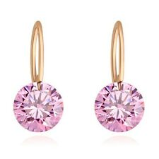 Cheapest Earring Hook Stud Clear Nude Swarovski Crystal Element 18K Gold Plated