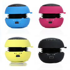 Mini Portable Hamburger Speaker For iPod iPhone Tablet Laptop PC MP3