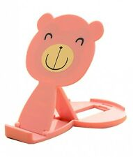 Cute Cartoon Bear Mobile Phone Holder Collapsible Mobile Phone Holder. Best Pric