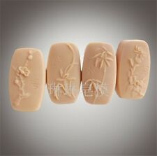 Silicone Soap Candle Mold Soap Making Mould DIY Handmade Mold Four Gentlemen