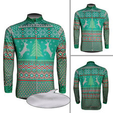 2016 Cycling Jersey Winter Fleece Thermal Long Sleeve Clothing Christmas Gifts