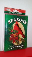 *** Box of 20 Christmas Cards with Envelopes.*** 5 Designs.***