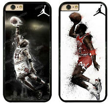 Michael Jordan 23 Jumpman Chicago Bulls Rubber Phone Case for iPhone / Samsung