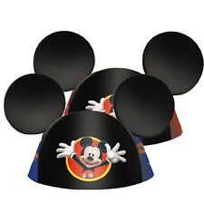 Disney Mickey Mouse Ears 8 Birthday Party Hats Favours Party Supplies Decoration