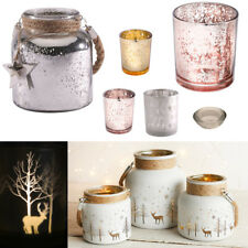 Wedding / Christmas Glass Votive Candle Holders, Tealight Vases, Decoration