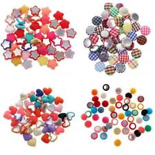 50x New Arrival Trendy Mix Combination Flatback Appliques Buttons DIY Crafts