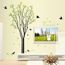 Tree Bird Quote Removable Wall Decal Mural Home Art DIY Decor Wall Sticker I@