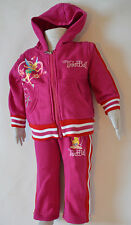 New Girl TinkerBell Girl two pieces winter sets Hot Pink Size 1,2,3,4,5,6