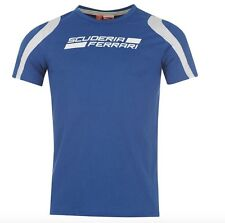 Puma Scuderia Ferrari Formula 1 men's T-Shirt Monaco Blue Vettel all sizes new