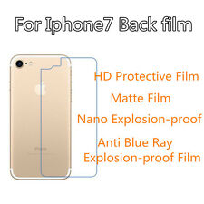 3pc For Iphone 7 Back Film  High Clear/Matte/Nano Explosion/Anti Blue Ray Film