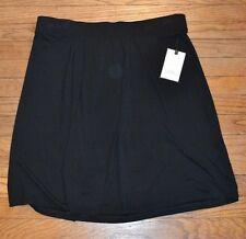 Dana Buchman Black Knit Skirt MSRP $36.00 Brand New With Tags