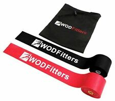 New WODFitters Floss Bands for Compression Mobility Tack and Flossing - 2 Pack