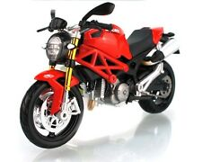 Maisto 1:12 Ducati Monster 696 Motorcycle Bike Model Red Black New In Box