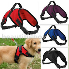 Adjustable Soft Mesh Padded Non Pull Dog Harness - Small Medium Large Extra Big